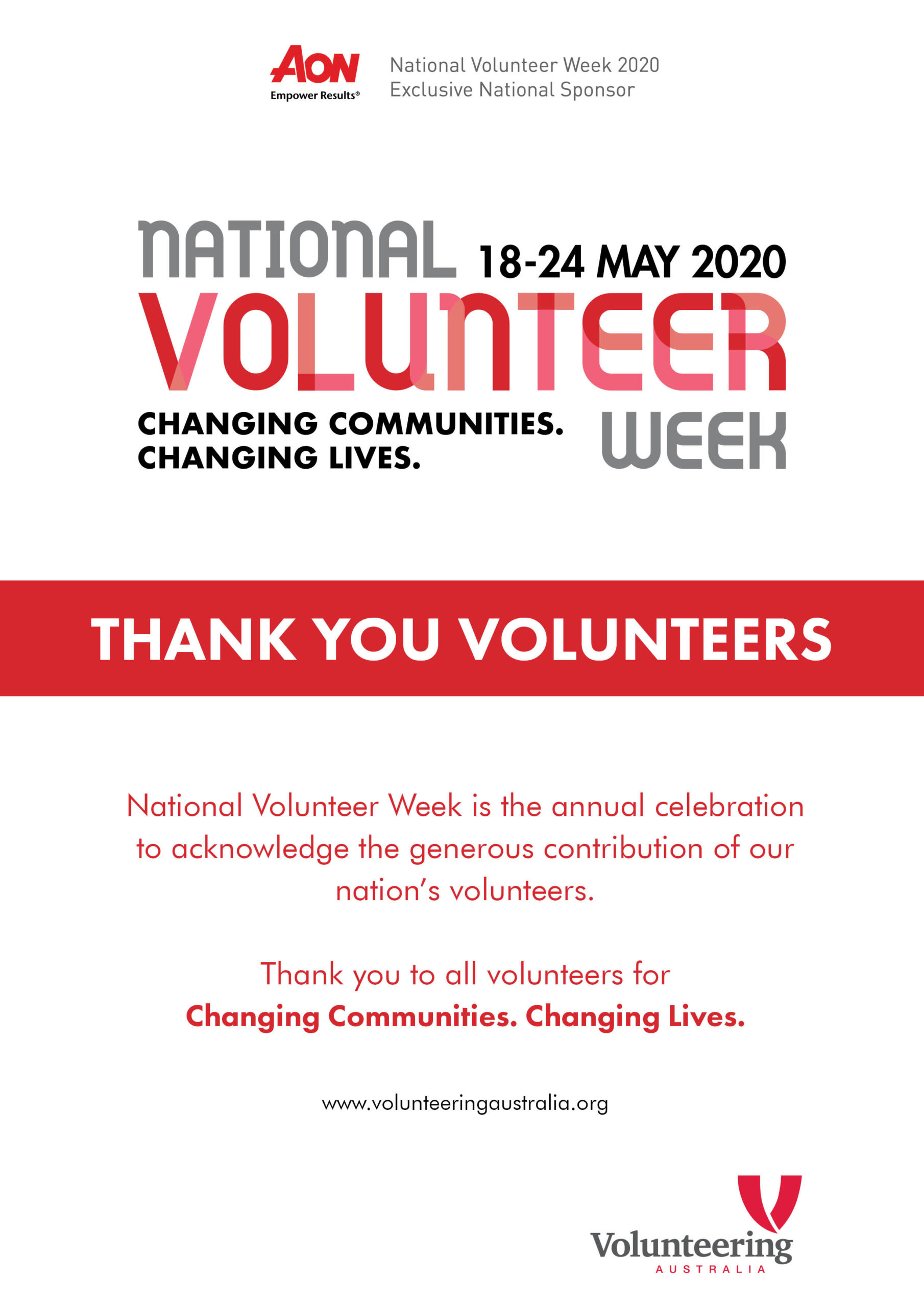 National Volunteer Week Resources